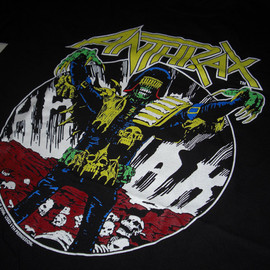 ANTHRAX - Judge death Tshirt
