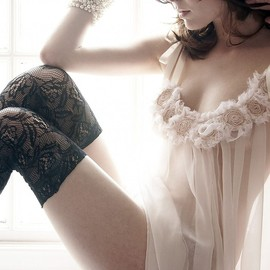 silk sexy lingerie /luxury