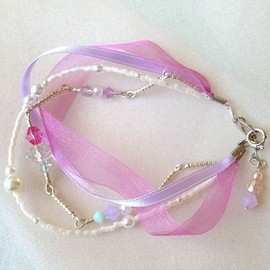end; - ribbon bracelet