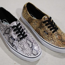 VANS - snakeskin-authentic-spring-2013