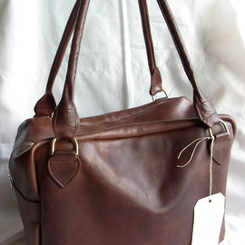 Paul Harnden Shoemakers - Big Chunky Bag(Brown)