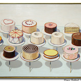 Wayne Thiebaud - cake