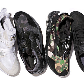 PUMA - PUMAがA BATHING APE®とコラボレートしたPUMA x BAPE® COLLABORATION COLLECTIONを発表
