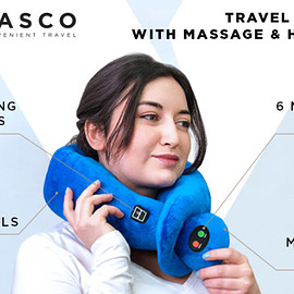 VASCO - Travel Pillow with Massage & Heating Mode