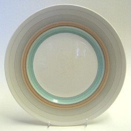 "Susie Cooper - ""Wedding Ring"" dinner plate"