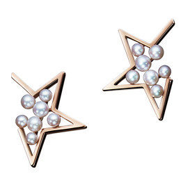 TASAKI - abstract star Earrings