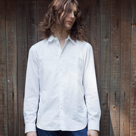 Another Shirt Please - Style 201 - Poplin White