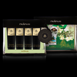 PAÑPURI - ESSENTIAL THAI JASMINE & MINT TRAVEL SET