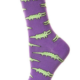 TOPSHOP - Crocodile Ankle Socks