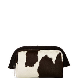 PROENZA SCHOULER - FW2015 Spotted Calf Hair Carlton Clutch