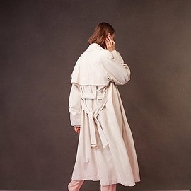 Tibi - Tibi Double Breasted Trench