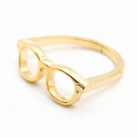 LARGE HIGE RING gold