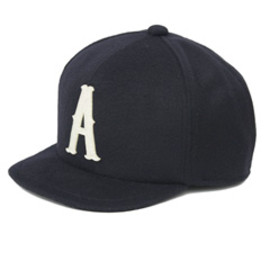 analog lighting - A Cashmere Wool BB Cap (navy)