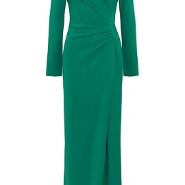 Lanvin - Gathered stretch-crepe gown