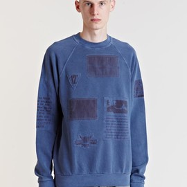 Raf Simons - Raf Simons Archive AW04 Reinforced Patch Sweater