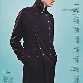 BURBERRY BLACK LABEL - black coat 2011