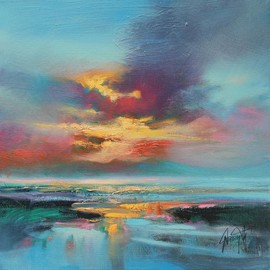Scott Naismith - Cyan Arran Study