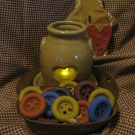 Luulla - NEW Primi Primitive Sewing Buttons Tarts Wax Melts By The Gingerbread Cupboard