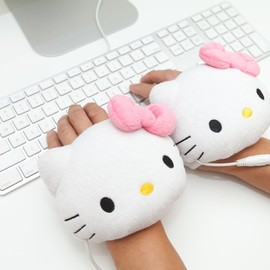 Sanrio Hello Kitty - Sanrio Hello Kitty USB Handwarmers Gloves, Smoko