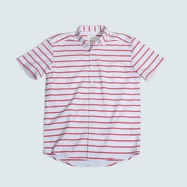 Saturdays Surf NYC - Red Esquia shirt