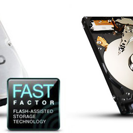 Seagate - Momentus® XT Solid State Hybrid Drives 750GB