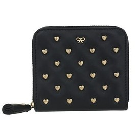 ANYA HINDMARCH - Studded Heart Medium Joss - Coal