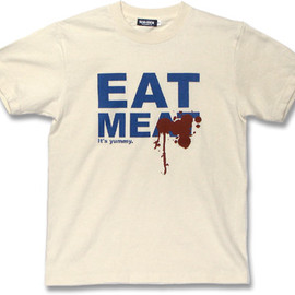 ice-mix - Eat Meat Tシャツ