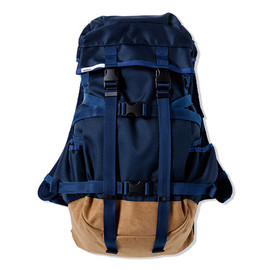 ×immun. - BACK PACK [NAVY/BEIGE]