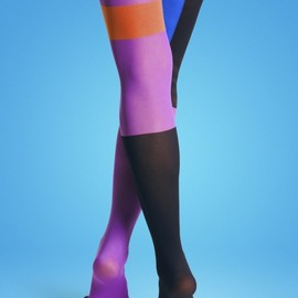 Happy Socks - Block Tights 01