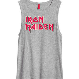 H&M - IRON MAIDEN Tシャツ