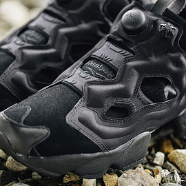 BEAUTY&YOUTH UNITED ARROWS, Reebok - Instapump Fury - Black/Black