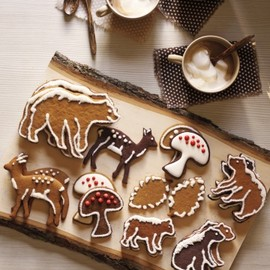 Downtown Dough - Woodland Xmas Cookies by Martha Stewart