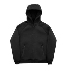 H&M, ALEXANDER WANG - Zip Hooded Parka? - Black