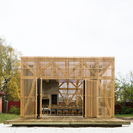 "Kerimov + Prishin Architects - ""The Arbor"" Dining-Room"