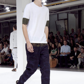 Dries Van Noten - PAVEL-BIS PANTS NAVY (2013SS)
