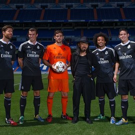 adidas - REAL MADRID Third Uniform designed by Yohji Yamamoto