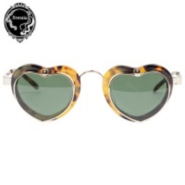 "Sretsis - 【Sretsis】サングラス""EYE HEART SUNGLASSES""/TORTOISE"