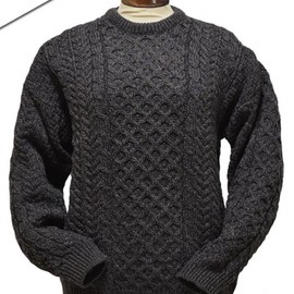 Aran Sweater Market - Merino Aran Sweater - Derby