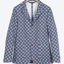 Carven - Kaleidoscope canvas jacket