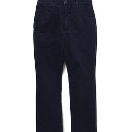 nonnative - DWELLER CHINO TROUSERS FLARED FIT C/P TWILL STRETCH VW