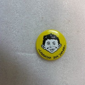 Mad Magazine - OD-1996-MAD-MAGAZINE-ALFRED-E-NEUMAN-WHAT-ME-WORRY-PIN-25928