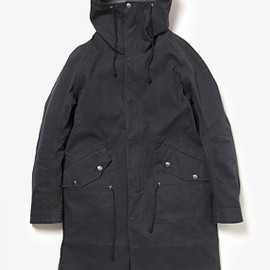 nonnative - TROOPER HOODED COAT COTTON CHINO CLOTH GORE-TEX PACLITE