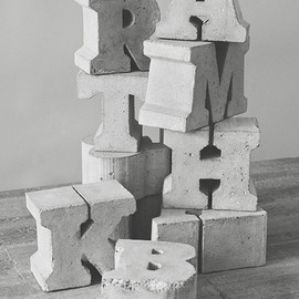 Playtype - Sigurd Larsen x Playtype — Concrete Letters