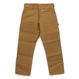 Round House - 12oz. Brown Duck Double-Front Dungaree