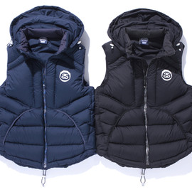 STUSSY SPORT by ONEHUNDRED ATHLETIC - Down Vest