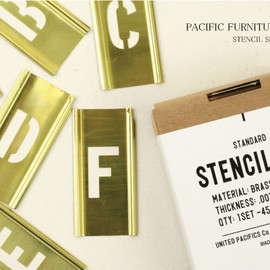 PACIFIC FURNITURE SERVICE - STENCIL SET(1)
