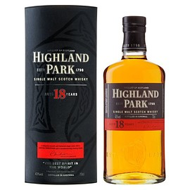 Highland Park - Single Malt Whiskey 18 years old