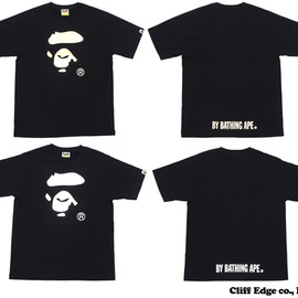 A BATHING APE - APE FACE FOIL TEE