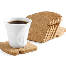 Oti Design - Toast It Coasters by Patricia Naves