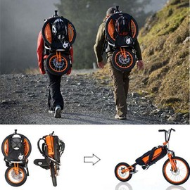 Bergmonch - Folding Backpack Bicycle